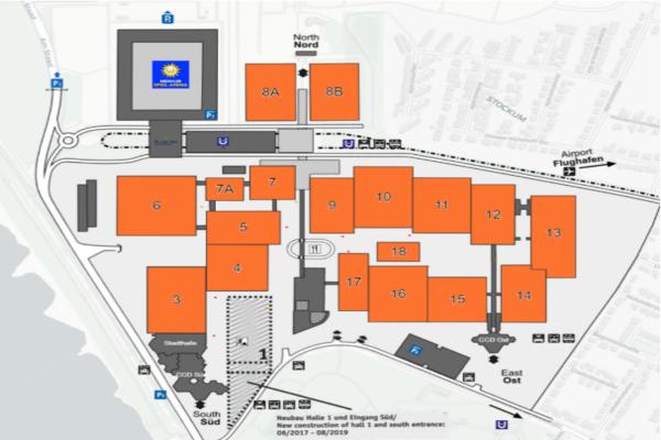 德国杜塞尔多夫展览中心简介_杜塞尔多夫会展中心地址_展馆位置和联系方式_图10
