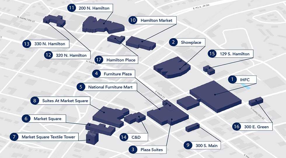 美国高点展览中心简介_高点会展中心地址_展馆位置和联系方式_图1