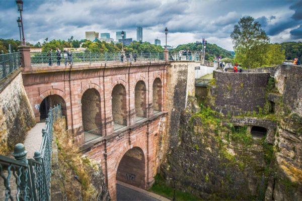卢森堡古堡