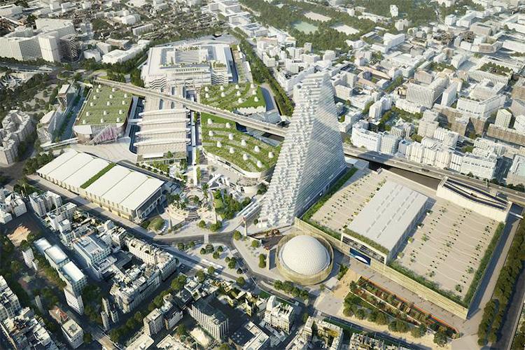 [巴黎凡尔赛门展览中心]法国巴黎凡尔赛门国际会展中心地址 展馆位置 规模_图1